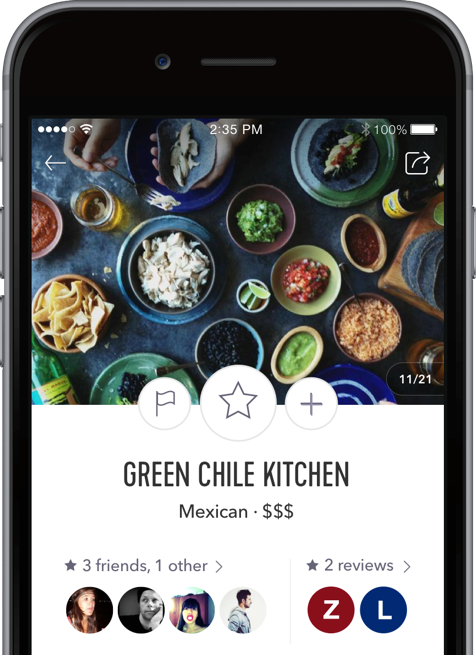 Green Chile Kitchen spot page screenshot