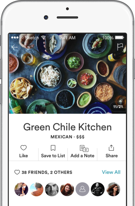 Green Chile Kitchen spot page screenshot